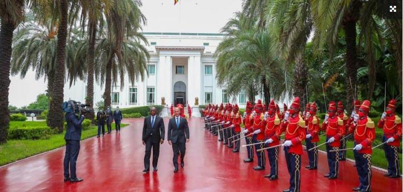 Six diplomates nouvellement accrédités à Dakar, présentent leurs lettres de créances