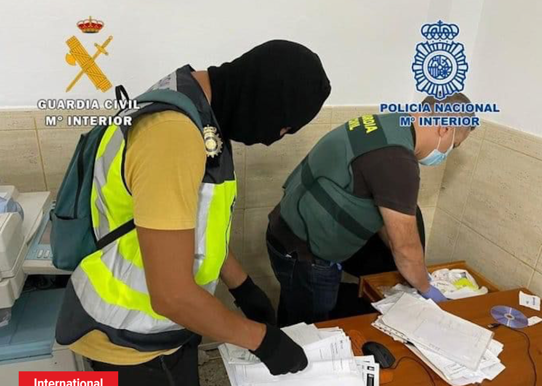 Trafic: 113 migrants obtiennent de faux passeports, 16 sénégalais arrêtés en Espagne