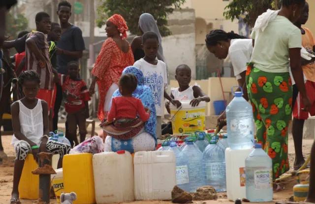 Pénurie d'eau à Kaolack : Les populations assoiffées depuis 5 jours