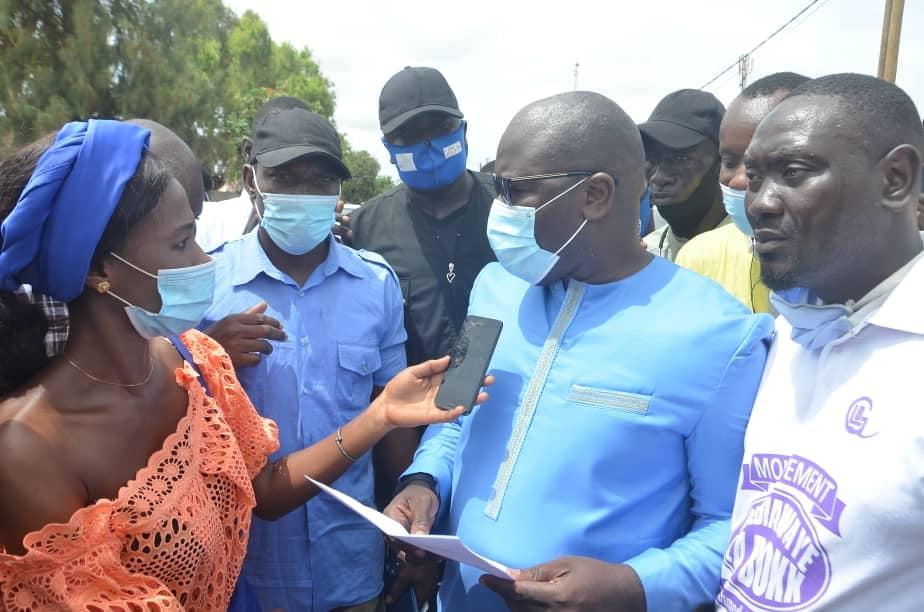 Investi pour briguer la Mairie de Guédiawaye: Le discours de Ahmed Aïdara lors du meeting d'investiture