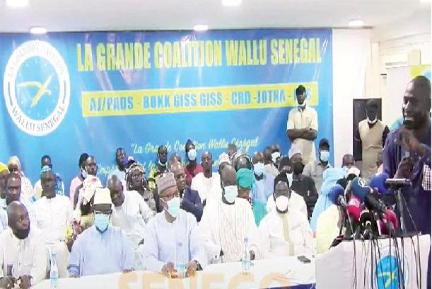 La Coalition Wallu Sénégal tire sur Macky Sall: « Il a mis l'ensemble des institutions de la République, au service des intérêts clientélistes»