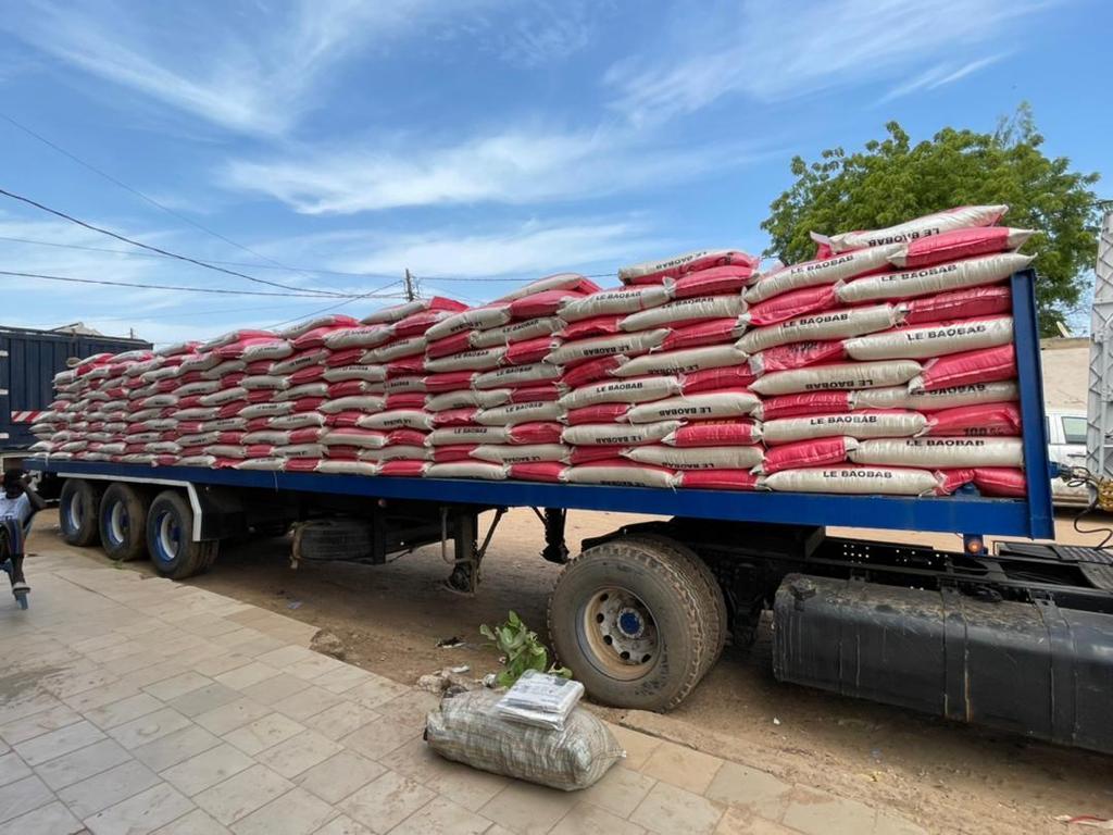 Kaolack Gamou 2021: 150 tonnes de riz, 400 boeufs offerts aux familles religieuses par Rahma