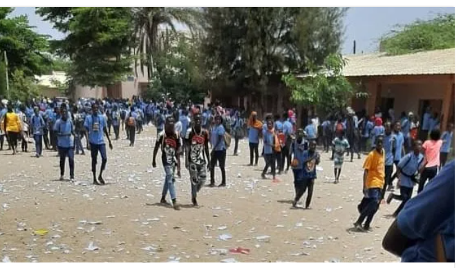 Saccage du Cem Hann: Les élèves présentent leurs excuses devant le Ministre
