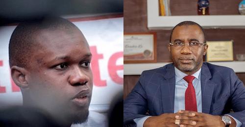 Rencontre inattendue: Ousmane Sonko et Doudou Kâ se croisent au salon d'honneur de l'aéroport de Ziguinchor