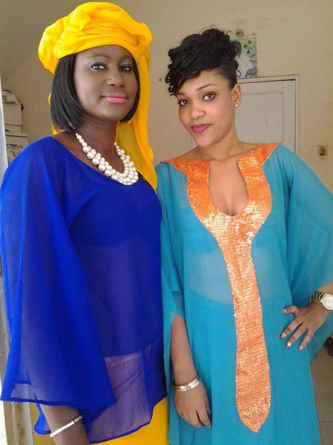 "Mounass de ""Dinama Nékh"" et Astou Mbaye de ""Double Vie"""
