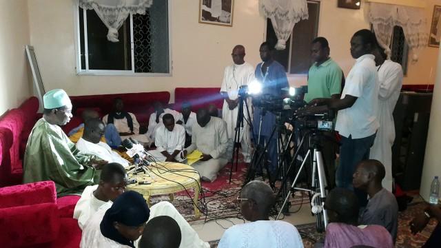 Ndogou de Presse et Conférence inaugurale des « Grandes Conférences du Laylatoul Qadr » organisées par le Comité d'Organisation du Laylatoul Qadr à Touba.