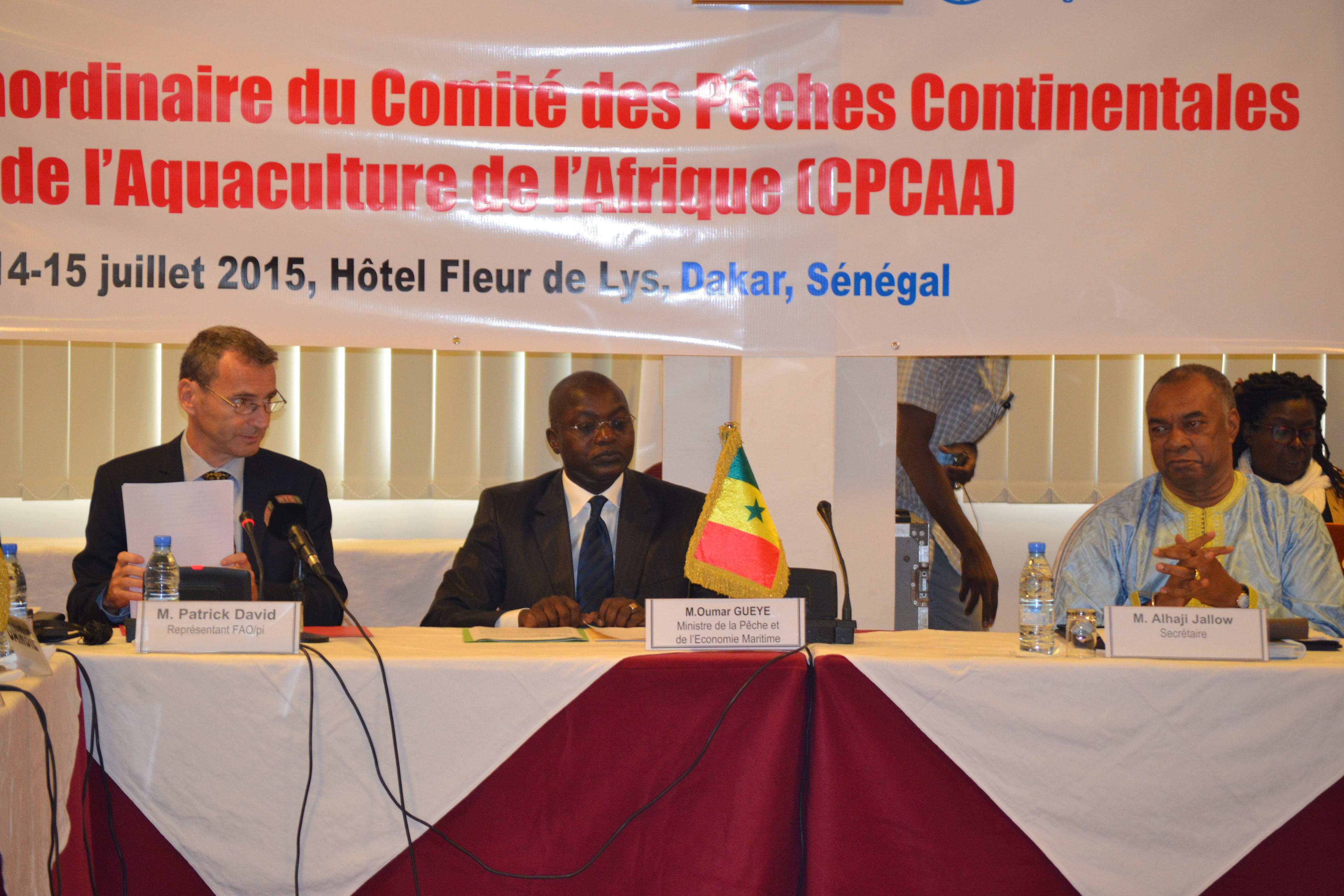 Patrick David, représentant de la Fao : « Les autorités africaines doivent donner une attention particulière à la pêche continentale... »