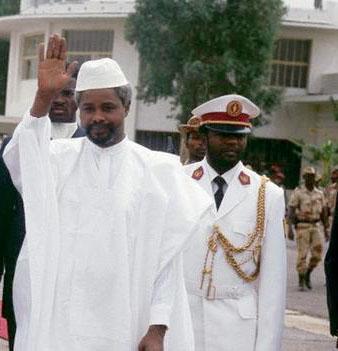 Le président Hissène Habré, un grand résistant africain