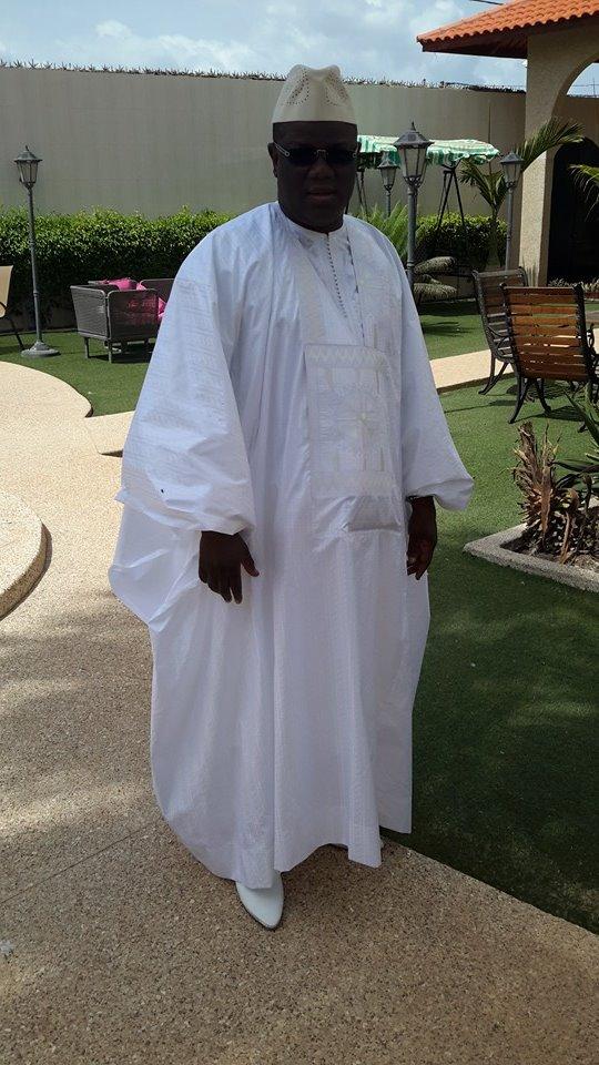 """Arrêt sur images: Le """"Sagnsé"""" du maire de Zig, Abdoulaye Baldé, le jour de la Korité"""