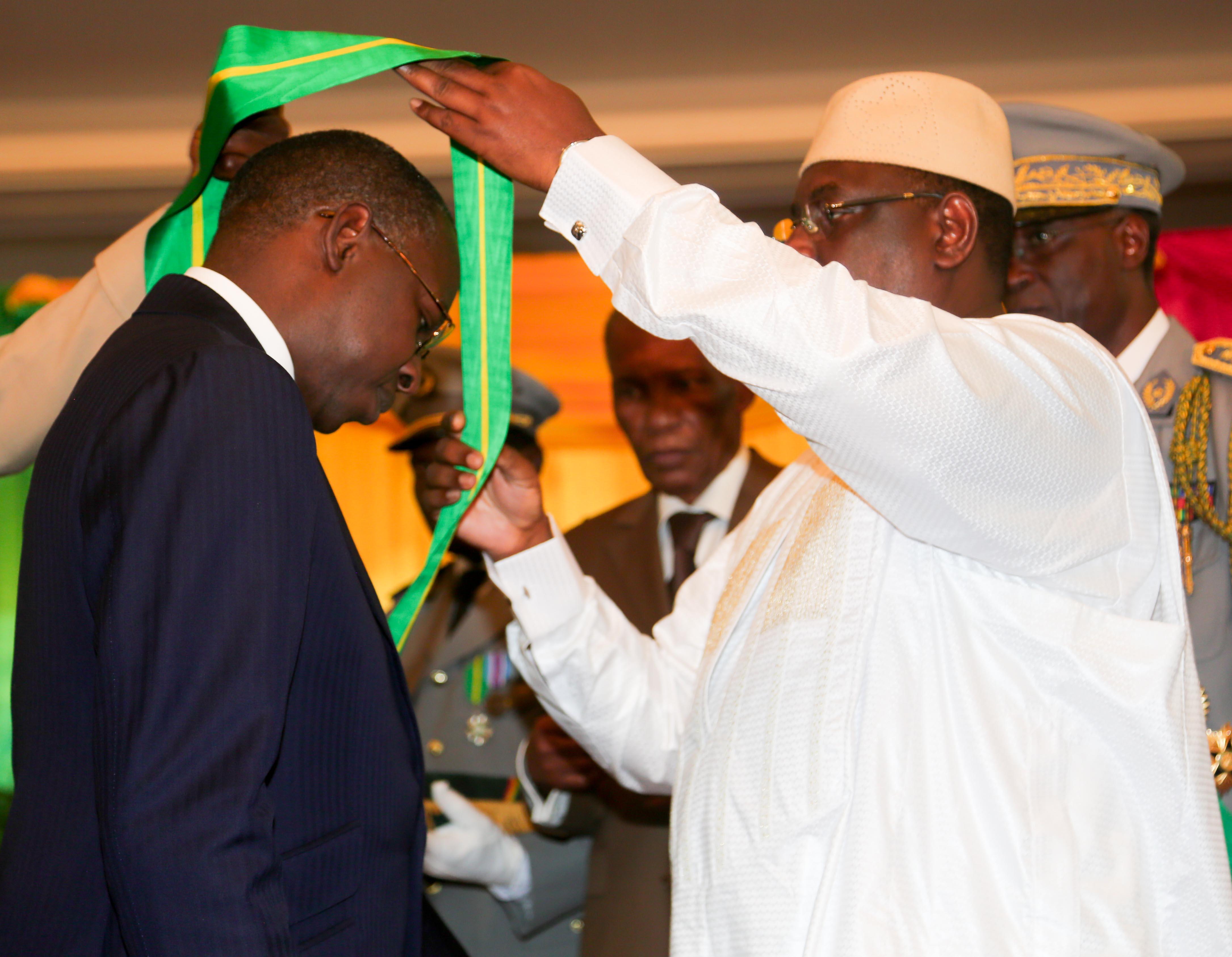 « L'Ordre national du Lion du Sénégal » ?