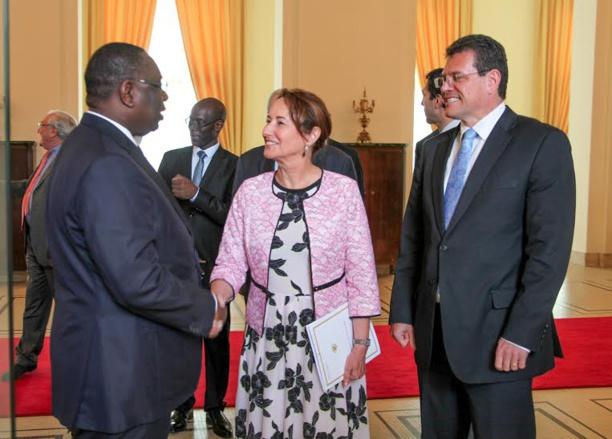 Macky Sall présente à Ségolène royal son approche du développement durable