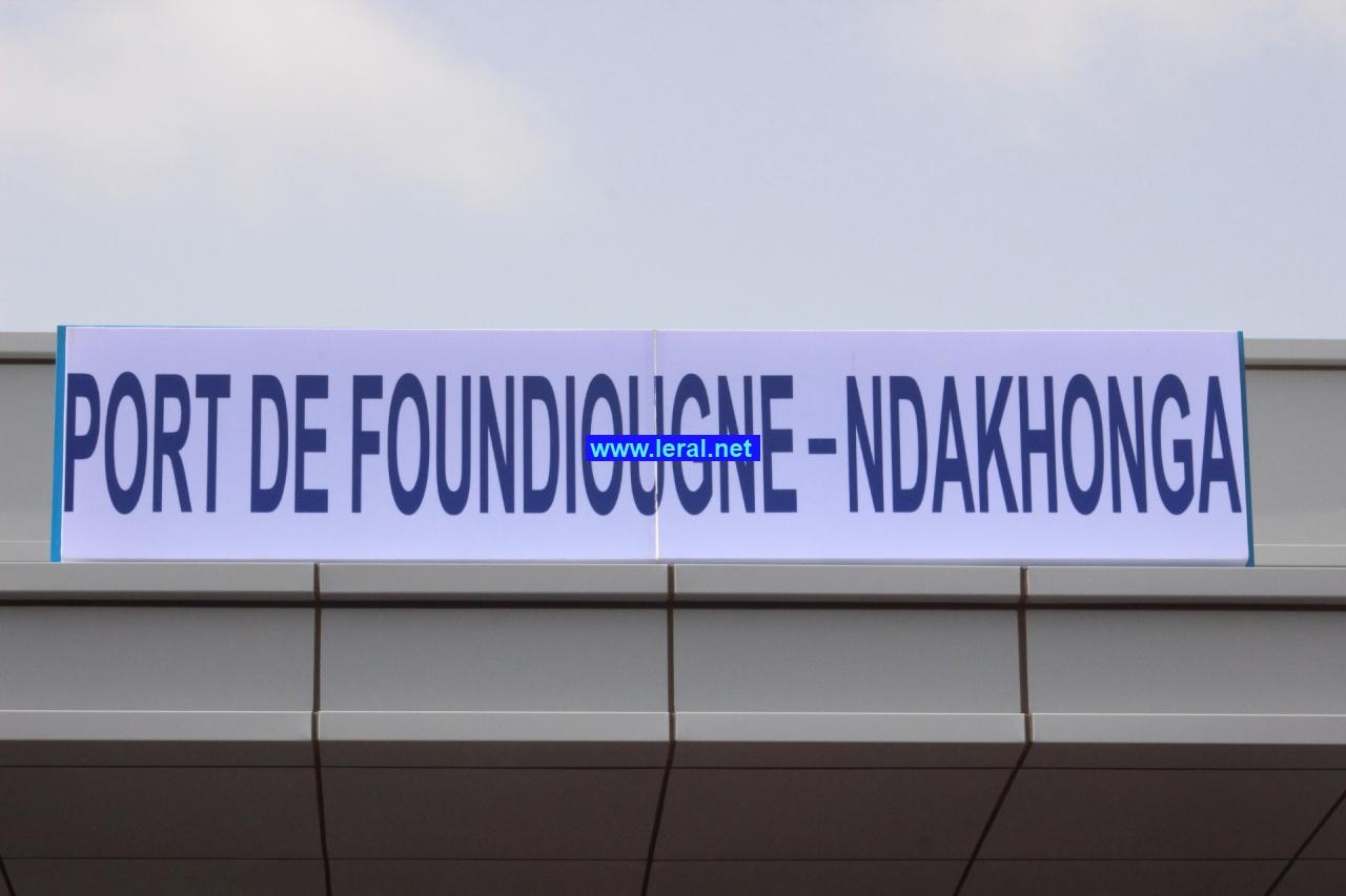 Revivez en images l'inauguration du port Foundiougne-Ndakhonga