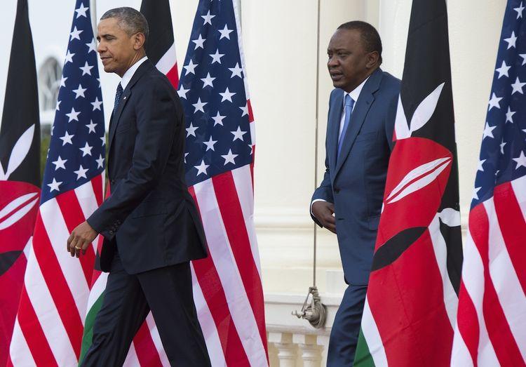 En visite au Kenya: Obama se fait l'avocat des homosexuels