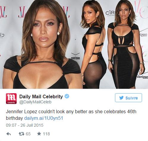 Pour ses 46 ans, Jennifer Lopez sort le grand jeu