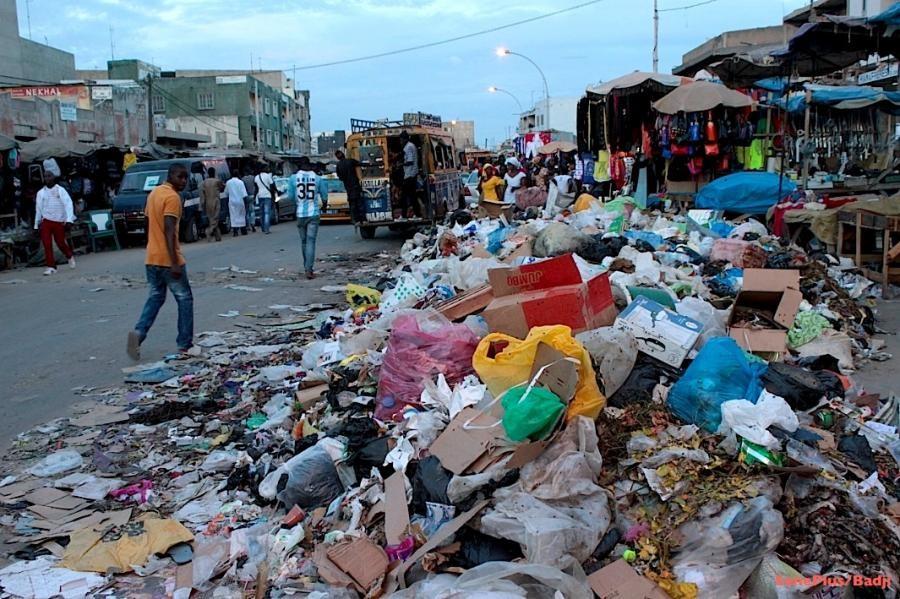 Dakar bientôt sous les ordures