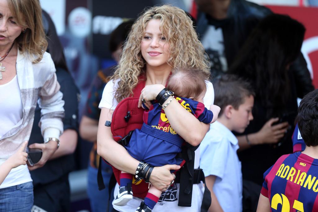 Shakira : son fils de six mois déjà footballeur!