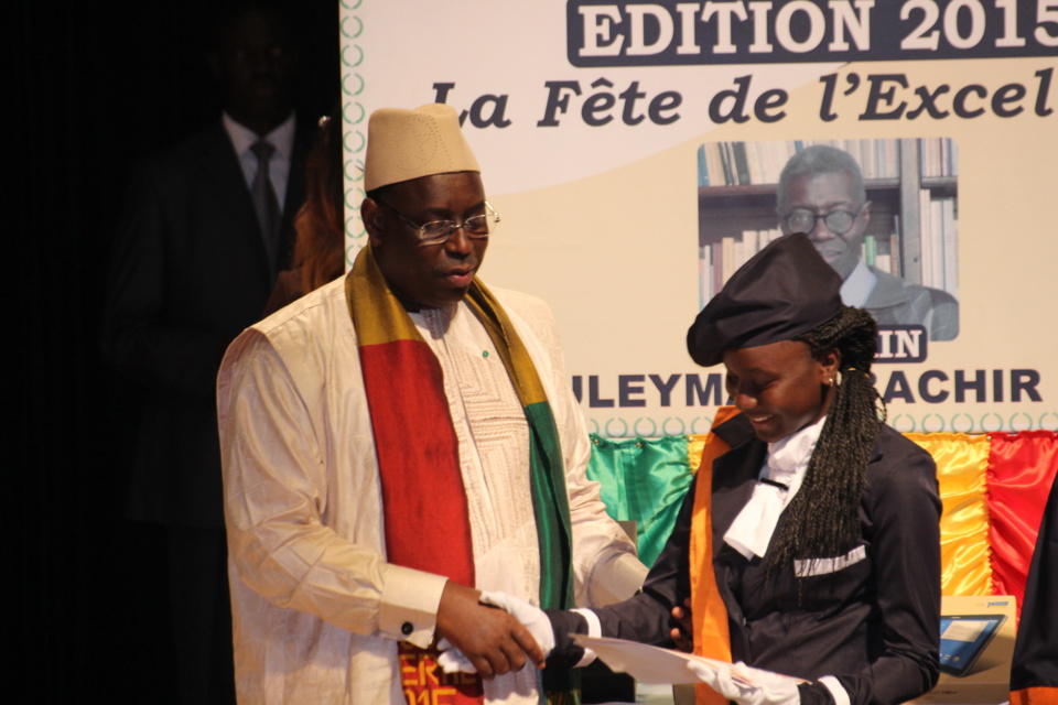 Photos - Concours général 2015 : Haby Kâ, meilleure élève du Sénégal