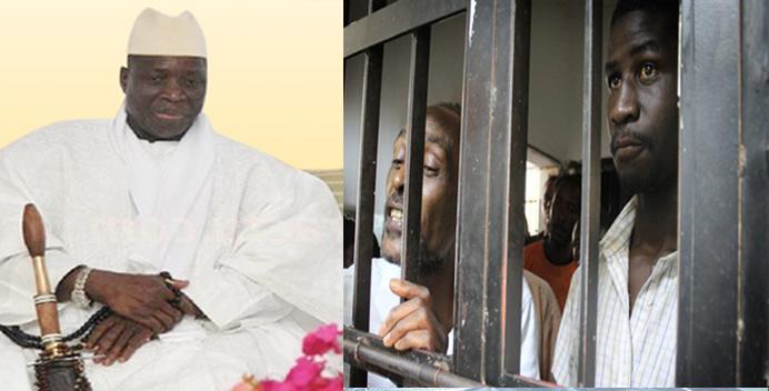 Gambie: Marche des prisonniers graciés pour montrer leur reconnaissance au président Yaya Jammeh