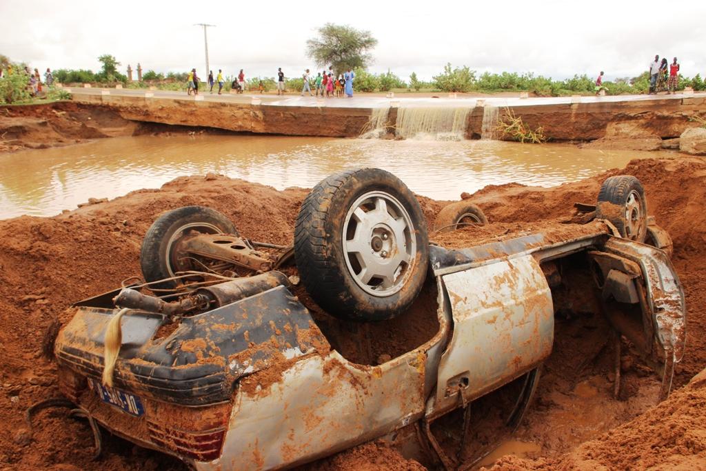 Kanel:  De fortes pluies s'abattent sur le département, un jeune commerçant emporté par les eaux