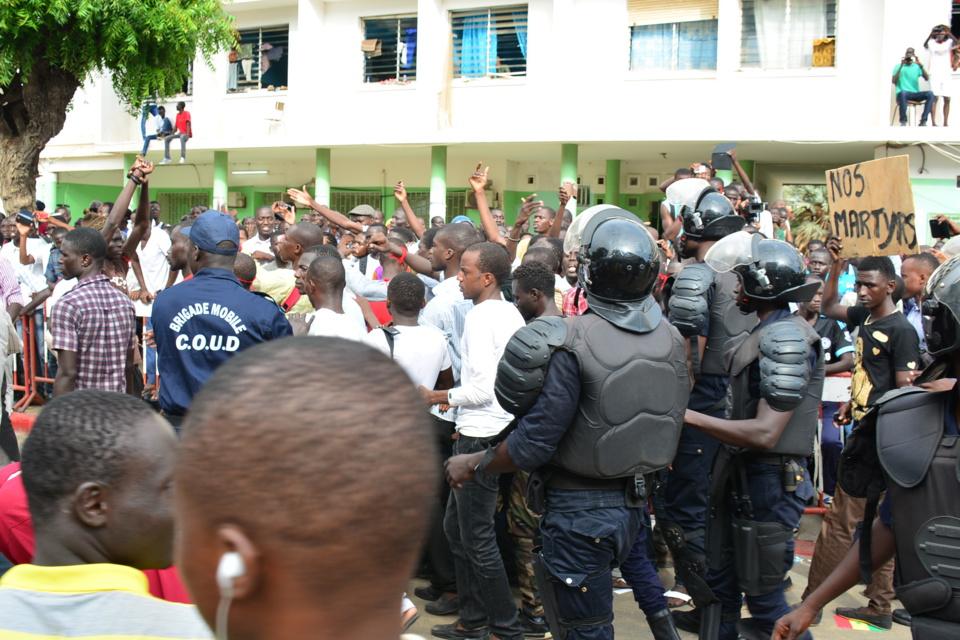 Visite mouvementée du Président à l'Ucad: Les présumés jeteurs de pierre risquent les Chambres criminelles