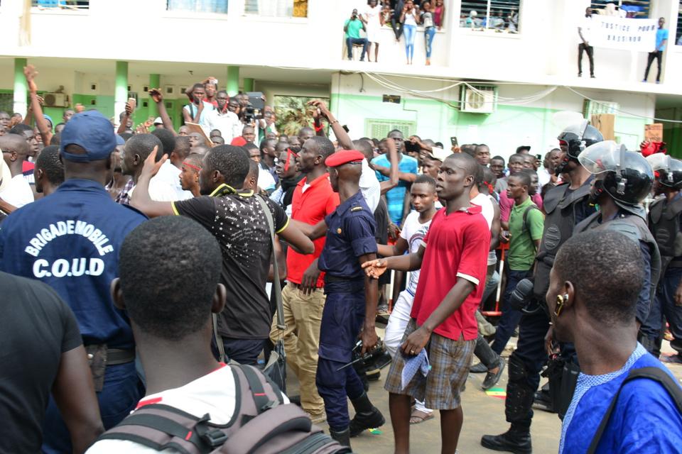 Jets de pierre sur le cortège du Président : Un 4e étudiant interpellé