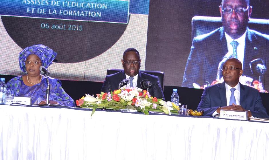 Conseil présidentiel sur les conclusions des Assises de l'Education et de la Formation:  Les 11 décisions de Macky Sall pour une école au service d'un Sénégal émergent