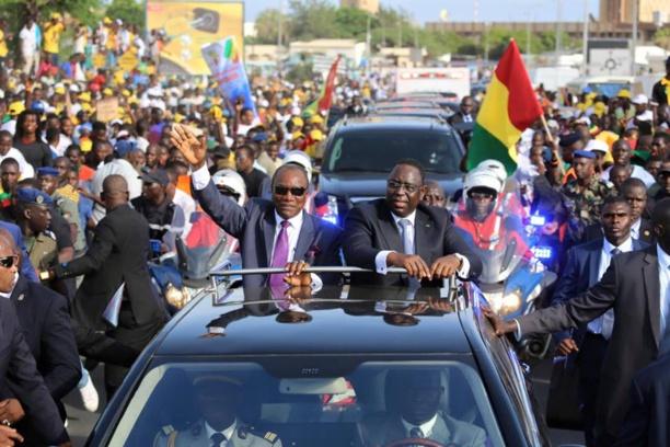 Visite officielle au Sénégal : Accueil chaleureux pour le Président Condé