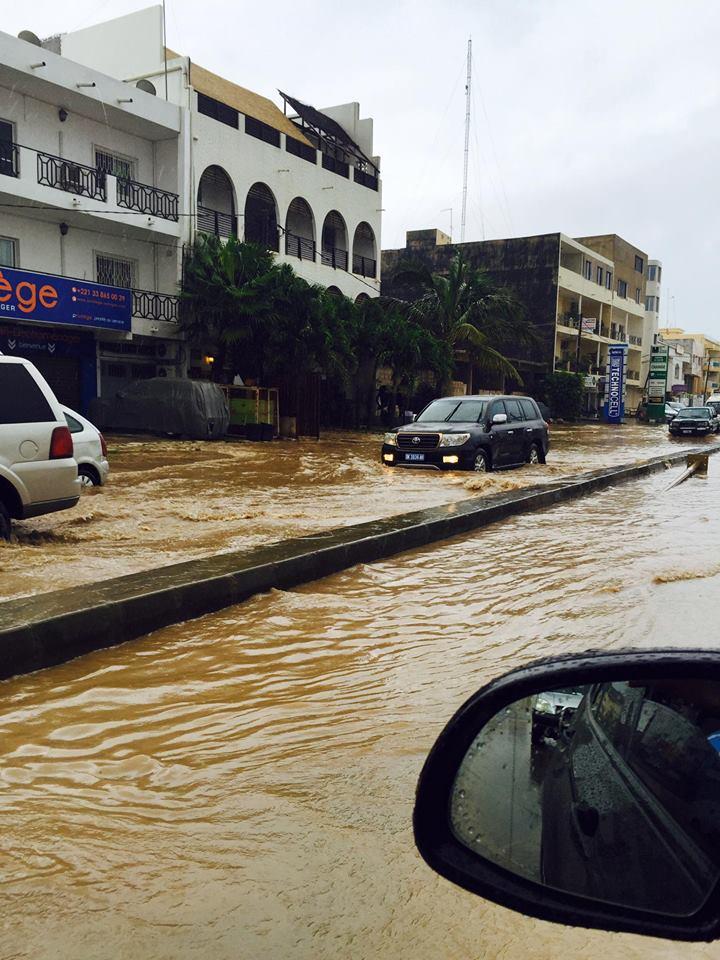 Pluies à Dakar: plusieurs habitations inondées