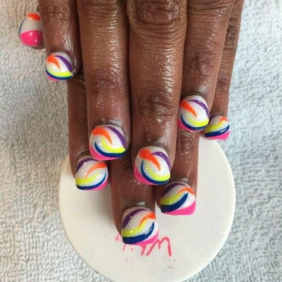 Qu'est ce que le bubble nail ? Une nouvelle mode qui transforme vos ongles... Étrange !