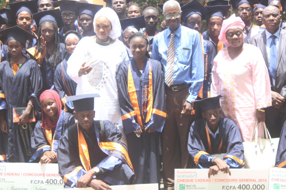 La Fondation Sonatel récompense les meilleurs élèves du Sénégal