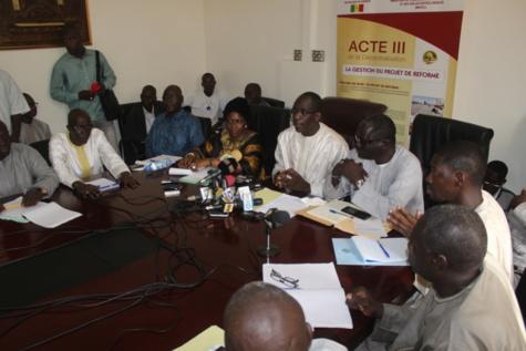 Problèmes posés par la réforme de l'Acte III de la Décentralisation: Abdoulaye Diouf Sarr met en place un comité mensuel de concertation