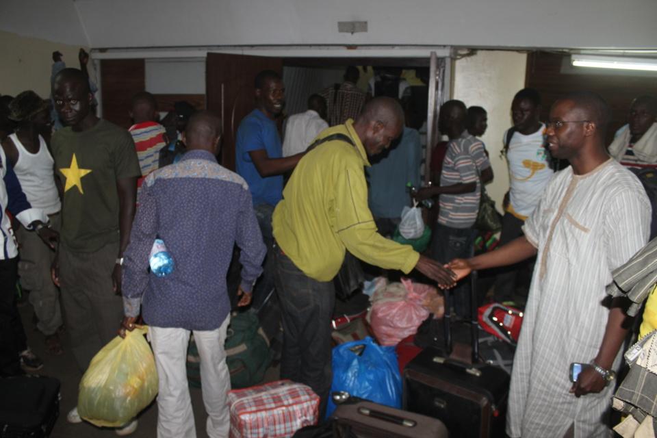 Nos compatriotes rapatriés du Gabon sont arrivés