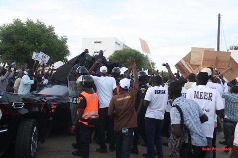 Caillassage du cortège de Macky Sall : Le Rassemblement des étudiants des partis politiques et de la Société civile condamnent et demandent pardon