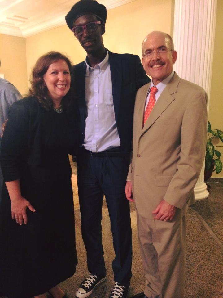 Réception de départ de Christine March, chargée de presse US Embassy à Dakar