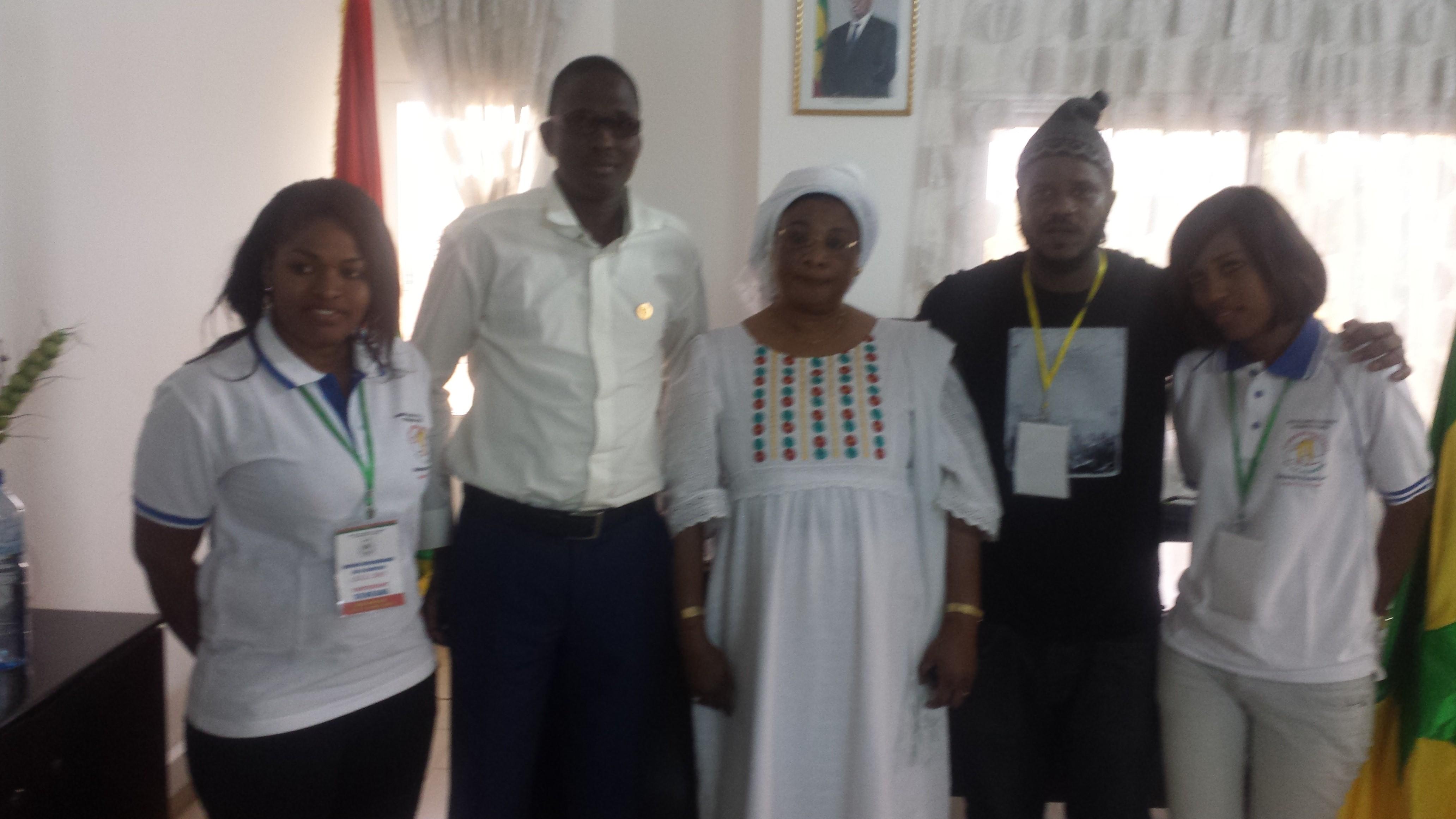 Burkina Faso : La jeune diplomatie sénégalaise à l'honneur