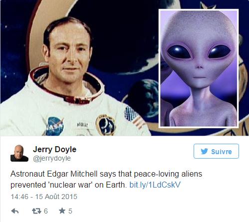 """Un vétéran de la NASA : """"Les extraterrestres ont empêché une guerre nucléaire"""""""