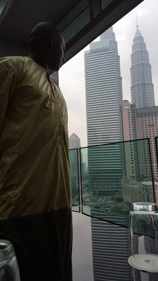 Kuala Lumpur vu de l'hotel Impiana.