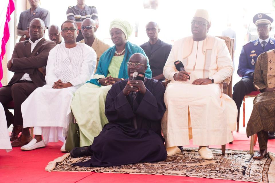 Macky Sall à la famille de Doudou Ndiaye Rose : « C'est un monument qui est parti »