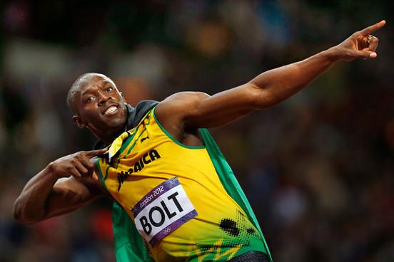 Championnats du monde d'athlétisme à Beijing, finale 100 m hommes : Avec Bolt le drapeau flotte et l'hymne retentit toujours