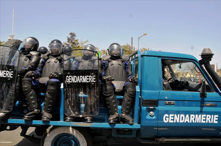 Mouvement à la Gendarmerie nationale sénégalaise