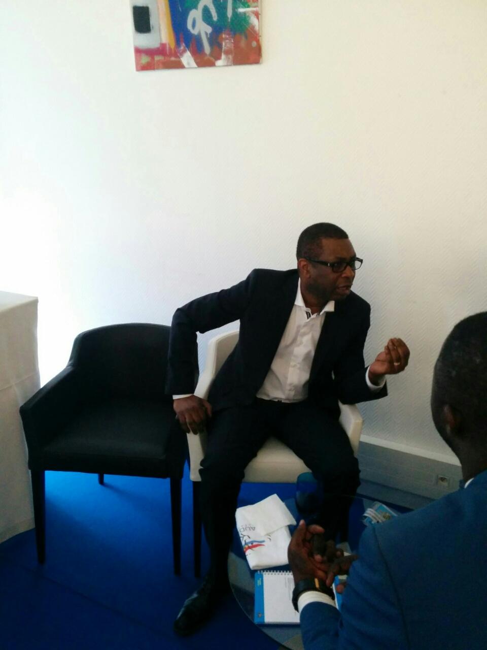 """Au Medef, Youssou N'Dour """"Maintenant les jeunes Africains vont à Istanbul ou Dubaï. Paris ne fait plus rêver"""" ( Photos - Vidéo)"""