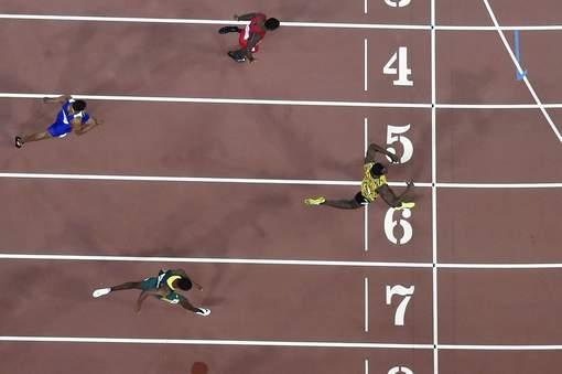 Mondiaux d'athlétisme à Pékin : Bolt est bien le plus fort