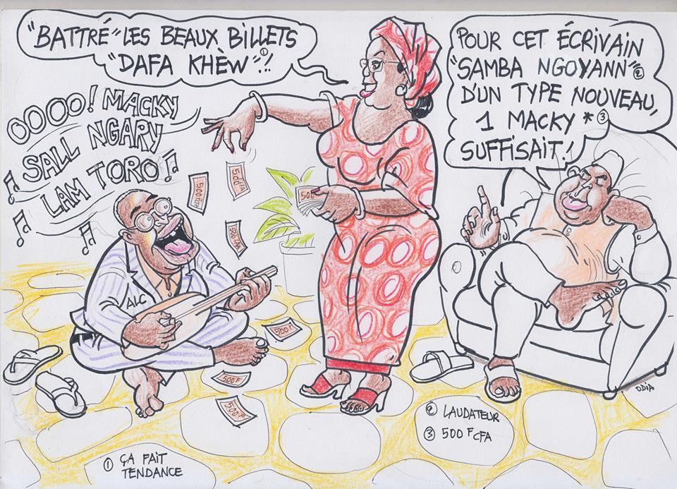 "Le ""riti"" de Latif Coulibaly pour Macky Sall"