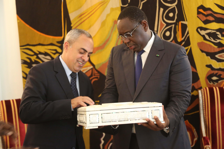 Audience: Macky reçoit Abdel Rahim AL Fara, l'Ambassadeur de l'Etat de Palestine au Sénégal