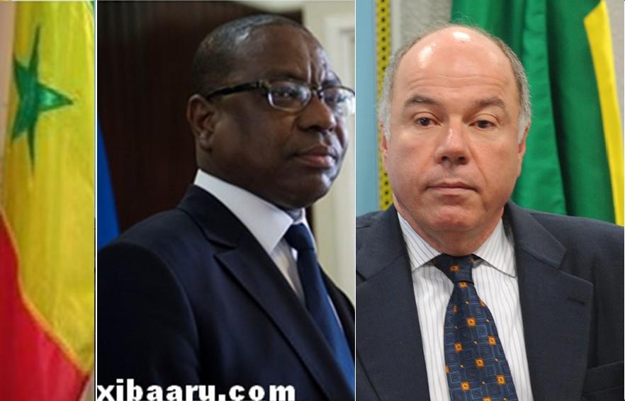 Relations bilatérales : Mauro Viera, ministre des Relations extérieures du Brésil, en visite au Sénégal