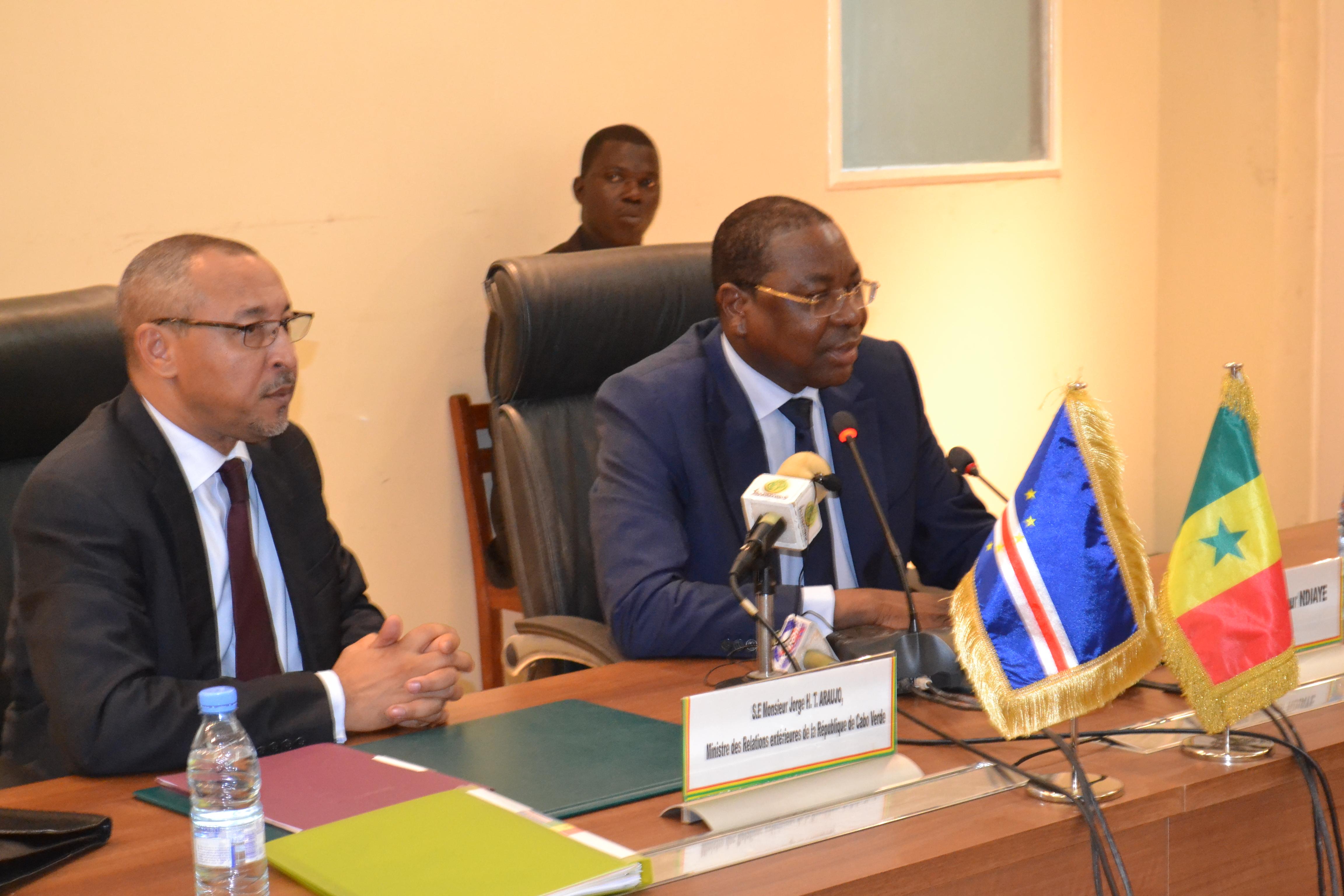Cap-vert-Sénégal: Vers l'ouverture d'une liaison maritime directe entre les deux pays