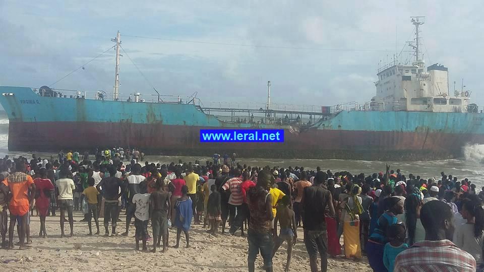 Cambriolage du navire qui a échoué à Mbao : 11 personnes interpelées à Thiaroye sur mer