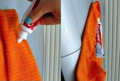 Le dentifrice, ça ne sert pas qu'à se laver les dents ! Découvrez des petites astuces pour faciliter votre quotidien !