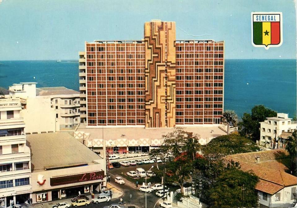 L'hôtel Téranga dans les années 70