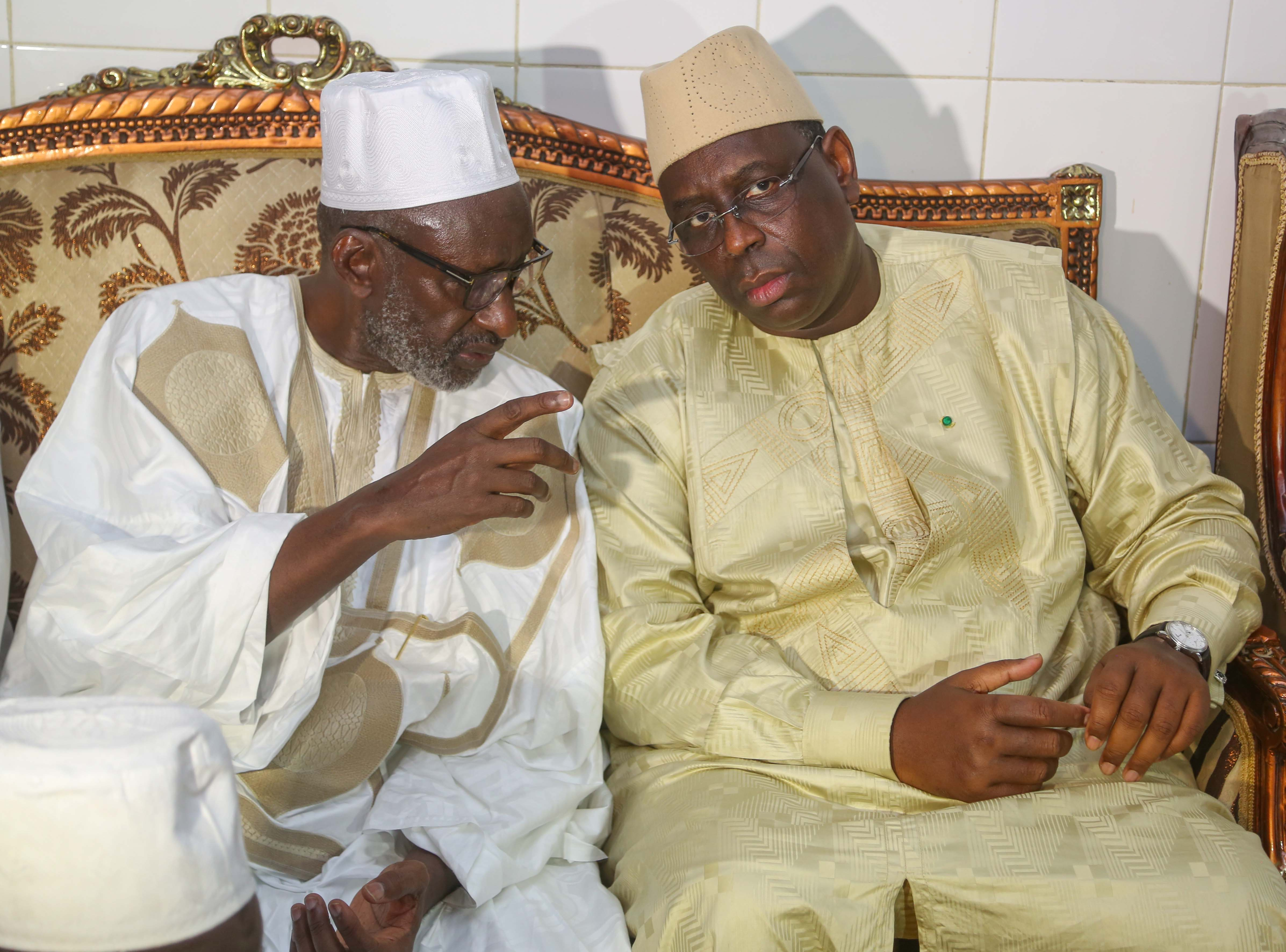 Le Président Sall chez Thierno Madany Tall
